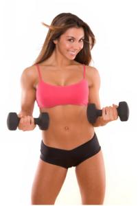 Imagem de musculação feminina