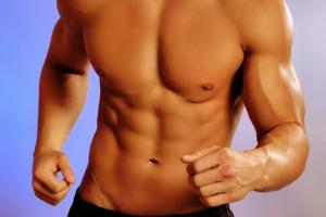 corpo malhado com a musculação