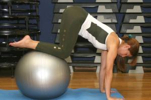 exercício de pilates