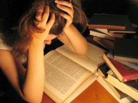estresse nos estudos - depressão