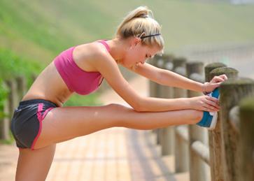 perder peso - alongamento muscular