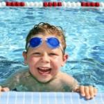 natação para as crianças