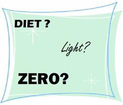 alimentos diet, ligth e zero qual a melhor opção
