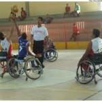 basquete para cadeirantes