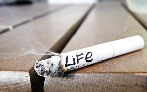 Fumar cigarro acaba com a vida