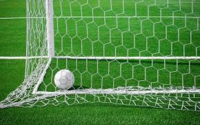 bola no gol e festa na Copa do mundo