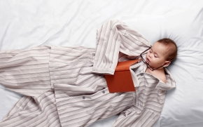 dormir bem como uma criança