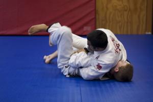 Jiu-Jitsu treinos no tatame