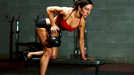 Crossfit exercício com peso