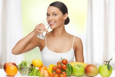 Hidratação com água frutas e verduras ajuda emagrecer rápido e fácil 2