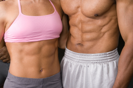 Exercícios abdominais definem a barriga