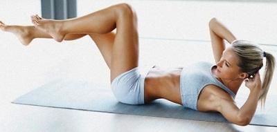 Como afinar a cintura em pouco tempo fazendo abdominal com flexão parcial de tronco