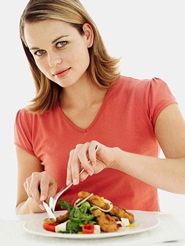 Uma alimentação mais saudável comendo pouco