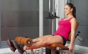 treinos na cadeira extensora
