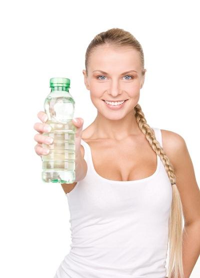 Para o ganho de massa muscular beba água