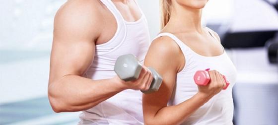 A musculação promove o fortalecimento muscular