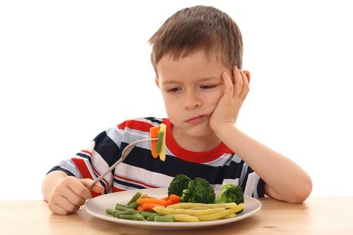 Na primeira infância transtornos alimentares em crianças