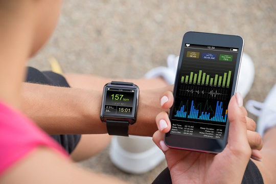 Monitorando a frequência cardíaca com aplicativos de celular para exercícios físicos
