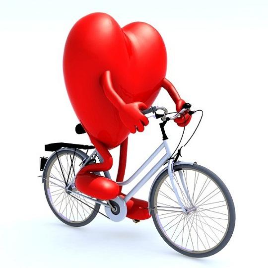 Benefícios de pedalar para as pernas bonitas e um coração forte