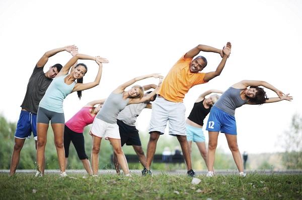 O exercício melhora o condicionamento físico